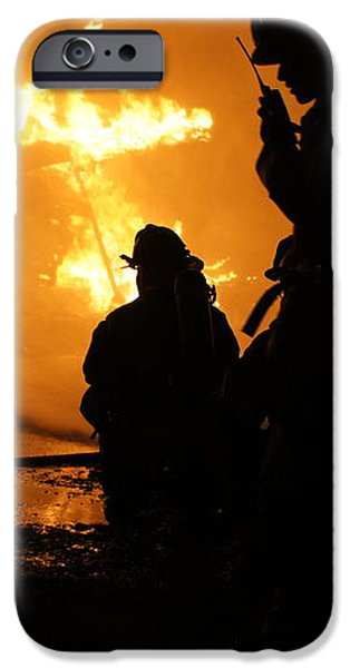 Through the Flames iPhone Case by Benanne Stiens