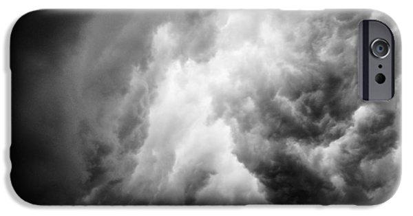 Thunderhead iPhone Cases - Thunderclouds iPhone Case by Hakon Soreide
