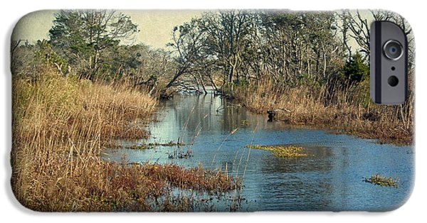 Tidal Creek iPhone Cases - Tidal Creek - Outer Banks North Carolina iPhone Case by Mother Nature