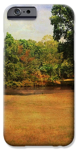 Timbers Pond iPhone Case by Jai Johnson