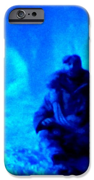 Time Stopped in a Huge Snow Ice  Grotte iPhone Case by Colette V Hera  Guggenheim