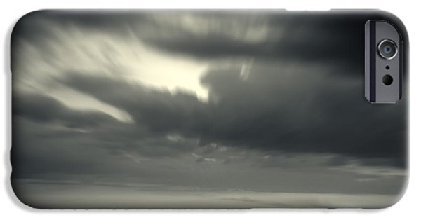 Abstract Seascape iPhone Cases - Time iPhone Case by Stylianos Kleanthous