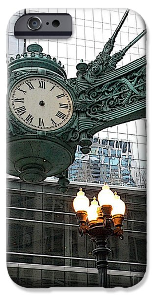 The Clock iPhone Cases - Timeless iPhone Case by David Bearden