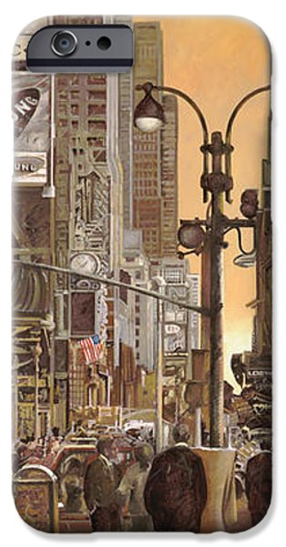 times square iPhone Case by Guido Borelli