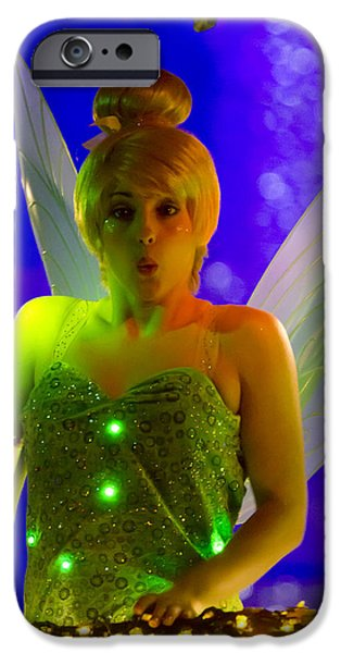 Tinker Bell iPhone Cases - Tink iPhone Case by Nicholas Evans