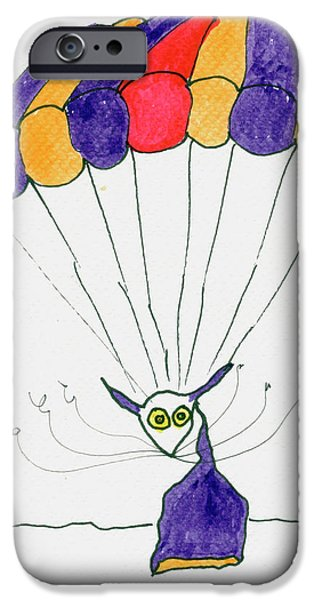 Tis just dropping in iPhone Case by Tis Art