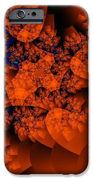 Tissue Cloud at Sunset iPhone Case by Ron Bissett