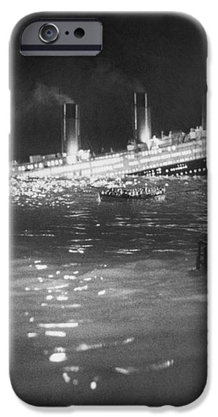 TITANIC: RE-CREATION, 1912 iPhone Case by Granger