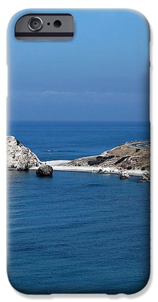 To Aphrodite's Rocks iPhone Case by John Rizzuto