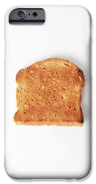 Toasting Bread iPhone Case by Photo Researchers, Inc.