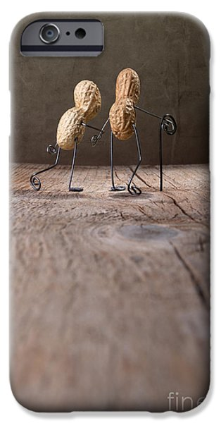 Small iPhone Cases - Together 03 iPhone Case by Nailia Schwarz