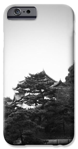 Tokyo Imperial Palace iPhone Case by Naxart Studio