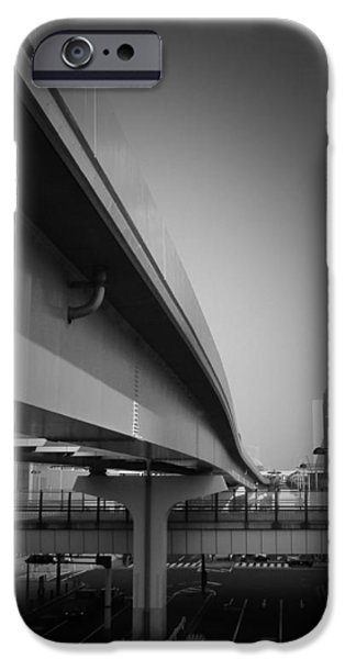History iPhone Cases - Tokyo Overpass iPhone Case by Naxart Studio