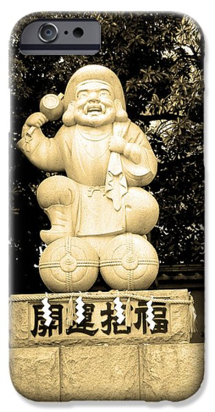History iPhone Cases - Tokyo Sculpture iPhone Case by Naxart Studio