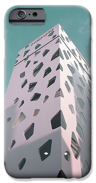 History iPhone Cases - Tokyo Skyscraper iPhone Case by Naxart Studio
