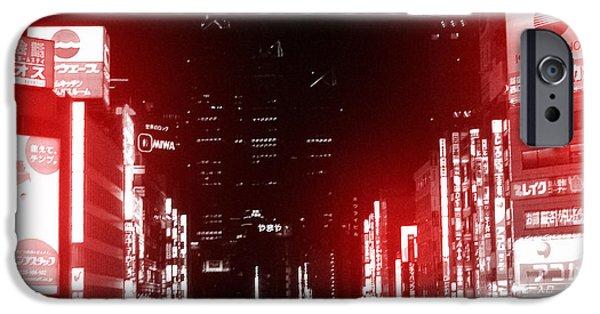 Building iPhone Cases - Tokyo Street iPhone Case by Naxart Studio