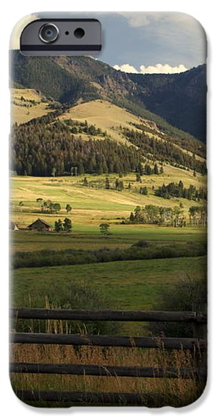 Tom Miner Vista iPhone Case by Marty Koch