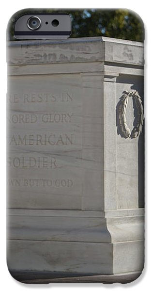 Tomb Of The Unknown Soldier, Arlington iPhone Case by Terry Moore