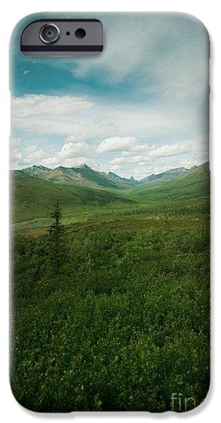 Tombstone Mountain iPhone Case by Priska Wettstein
