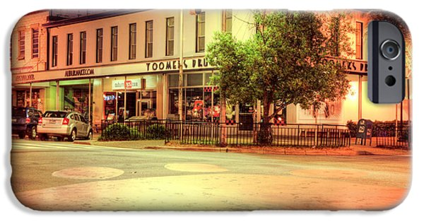 Toomers Corner iPhone Cases - Toomers Corner iPhone Case by JC Findley