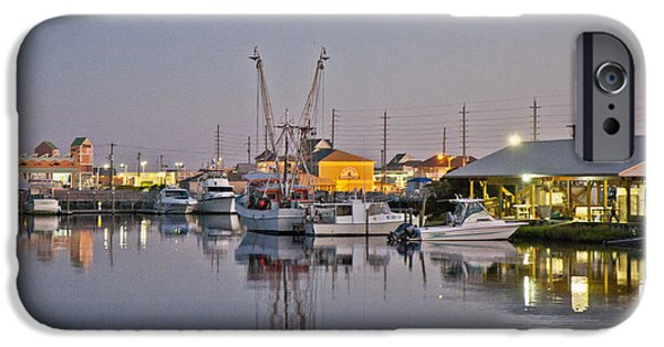 Topsail Island iPhone Cases - Topsail Island NC Sound iPhone Case by Betsy A  Cutler