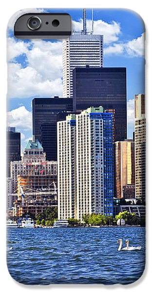 Toronto waterfront iPhone Case by Elena Elisseeva