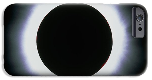 Solar Eclipse iPhone Cases - Total Solar Eclipse, 1999 iPhone Case by Dr Fred Espenak