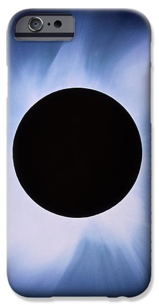 Total Solar Eclipse iPhone Case by Rev. Ronald Royer