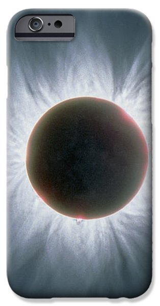 Total Solar Eclipse With Corona iPhone Case by Dr Fred Espenak