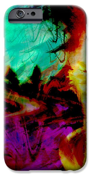 Touch of the Sun iPhone Case by Linda Sannuti
