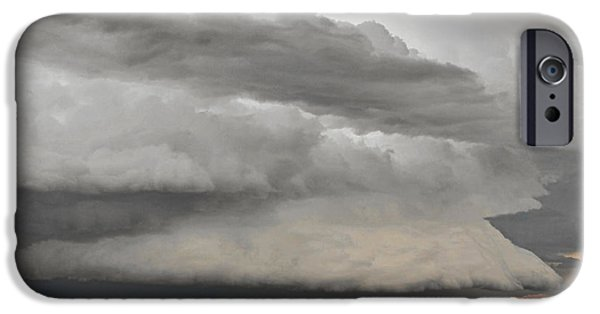 Northern Colorado iPhone Cases - Touch The Clouds iPhone Case by Christine Till