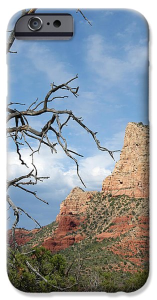 Sedona iPhone Cases - Touched iPhone Case by Lauri Novak