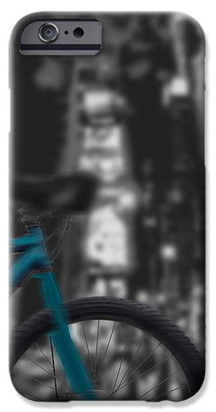 Touring the City iPhone Case by Linda Seacord