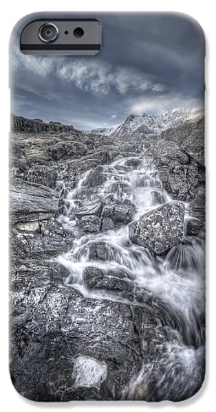 Epic Digital Art iPhone Cases - Towards the Cairn iPhone Case by Andy Astbury