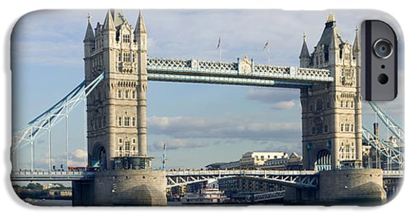 Nineteenth iPhone Cases - Tower Bridge, London iPhone Case by Peter Scoones