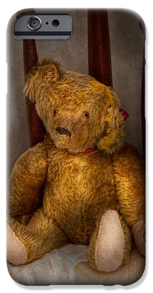 Best Sellers -  - Toy Store iPhone Cases - Toy - Teddy Bear - My Teddy Bear  iPhone Case by Mike Savad