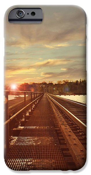 Tracks to Greatness iPhone Case by Joel Witmeyer