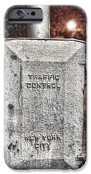 Traffic Control Box iPhone Case by Paul Ward