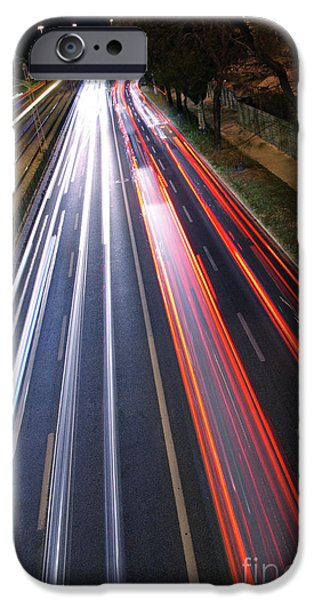Stripes iPhone Cases - Traffic Lights iPhone Case by Carlos Caetano