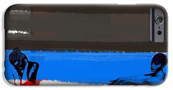 Seductive Paintings iPhone Cases - Tragic Friendship iPhone Case by Naxart Studio