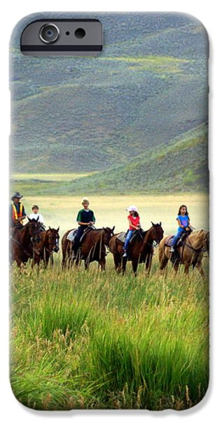 Trail Ride iPhone Case by Marty Koch