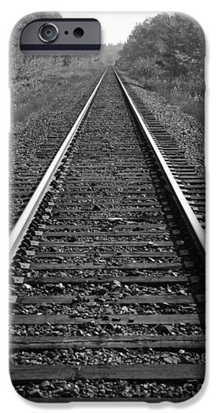 Destiny iPhone Cases - Train Tracks iPhone Case by Design Pics BRO