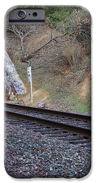 Train Tunnel At The Muir Trestle in Martinez California . 7D10228 iPhone Case by Wingsdomain Art and Photography