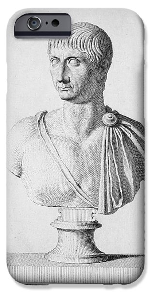 TRAJAN (c52-117) iPhone Case by Granger