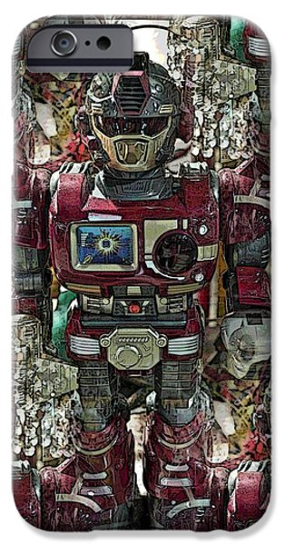 Best Sellers -  - Toy Store iPhone Cases - Transformique For Sale iPhone Case by Gwyn Newcombe