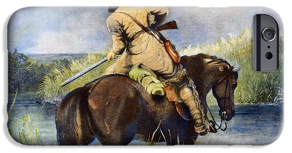 Destiny iPhone Cases - Trapper, 1850 iPhone Case by Granger