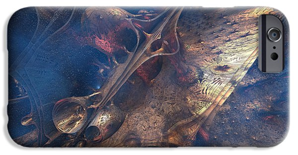3-d iPhone Cases - Traversing the time space continuum.   iPhone Case by Carol and Mike Werner