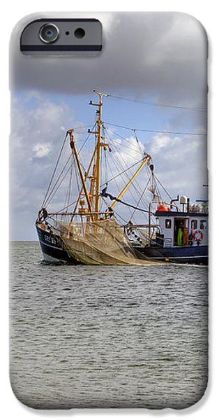 trawler - Sylt iPhone Case by Joana Kruse