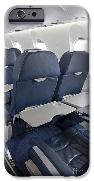 Tray Table on an Airplane iPhone Case by Jaak Nilson