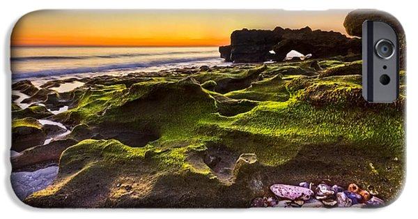 Tidal Photographs iPhone Cases - Treasure Trove iPhone Case by Debra and Dave Vanderlaan
